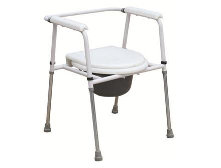 Powder Coated Steel Commode Chair