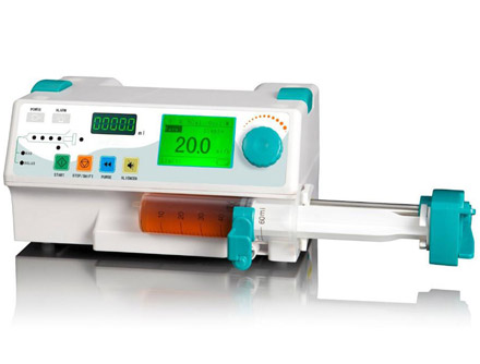 Single Channel Syringe Pump With Drug Library