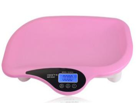 Digital baby scale with music
